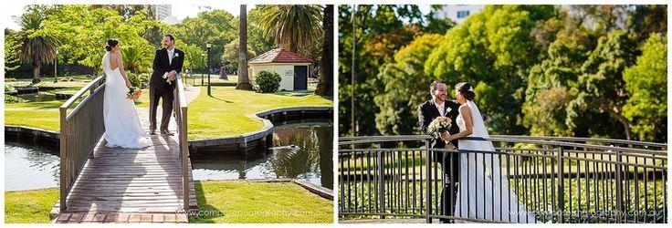 wedding at queens gardens perth