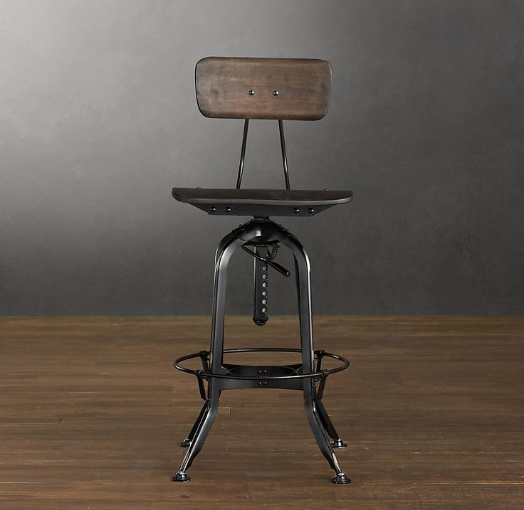 Best 10 Desk stool ideas on Pinterest Tall desk Bar  : 6b0f3d325937f30b5a235aa0908e47a6 industrial stool industrial furniture from www.pinterest.com size 736 x 717 jpeg 111kB