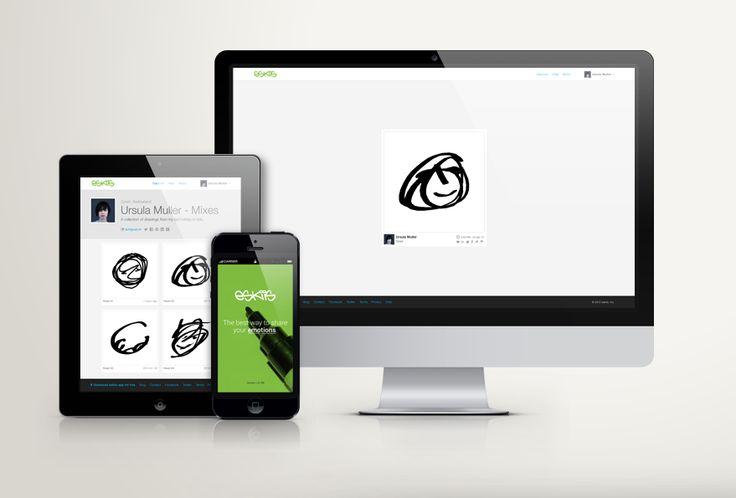 eskiis on tablet, desktop and smartphone - eskiis.com