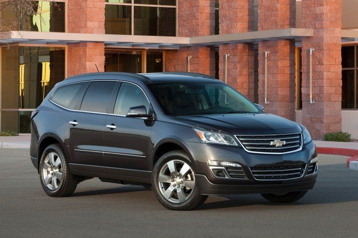 2016 Chevrolet Traverse SUV Review & Ratings   Edmunds