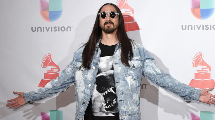 Steve Aoki is known for 'caking' his music fans, but getting them dressed is his latest move