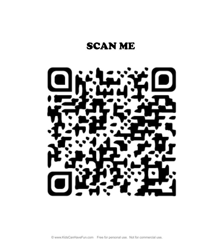 No Bullying Allowed Scan Me QR Code Wall Sign http://www.kidscanhavefun.com/qr-codes-for-kids.htm #qrcode #nobullying #stopbullying