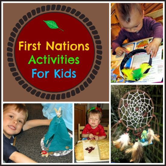 First Nations activities for kids.