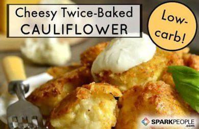 Cheesy Baked Cauliflower (Mock Twice Baked Potatoes) – Kohlenhydratarm – #Baked #Carb …   – Blumenkohl Rezepte