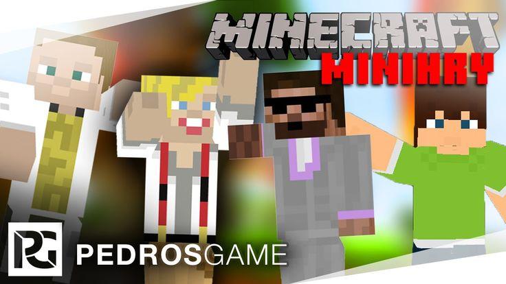 Pedro, GEJMR, Jirka a Ment   Minecraft minihry ŽIVĚ
