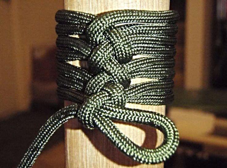 Para cord handle wrap.