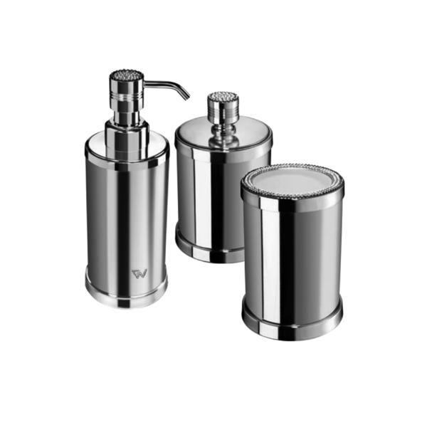 Starlight Bathroom Accessories Set W  Swarovski   3 Piece Chrome  Gold   Bathroom Accessory. 1000  ideas about Gold Bathroom Accessories on Pinterest   Gold