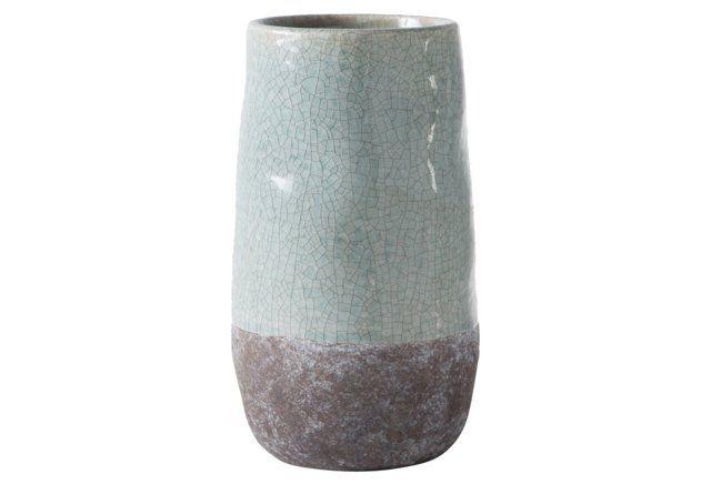 "10"" Corsica Ceramic Crackle, Blue"