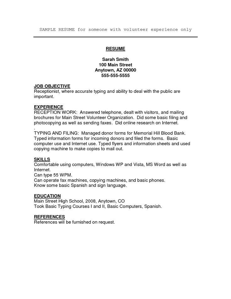 pin di resume template
