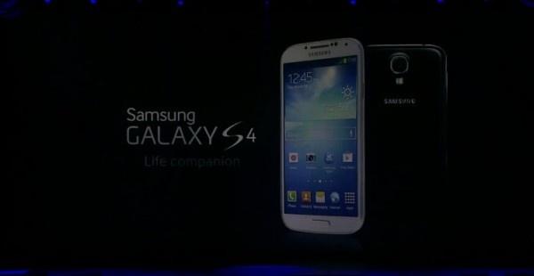 """Presentato ufficialmente il Samsung Galaxy S 4, il nuovo smartphone della casa coreana con display SuperAmoled da 5"""" FullHD."""
