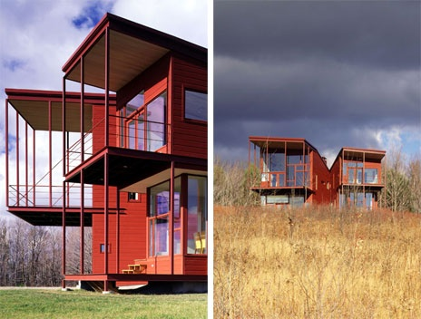 Steven holl y house catskills new york u s a for Home holl