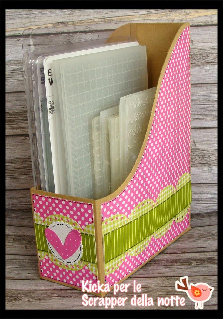 storage embossing folder