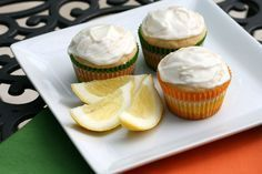 """Lemon drop """"labor induction"""" cupcakes. I don't know if these really work, but I made them the day I hit 37 weeks and I went into labor 2 days later. Also, they are delicious."""