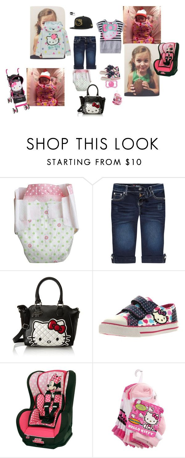 """""""go to grandma house for 1 st time with my little sister & pool"""" by maelysa971 on Polyvore featuring Hello Kitty, Scissor, Disney, women's clothing, women, female, woman, misses and juniors"""