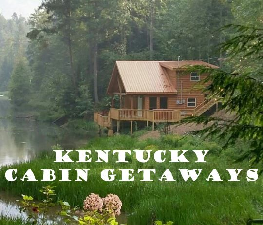 Kentucky has plenty of options around the state for cabin rentals!  Check out our complete list of rentals on our cabins, cottages and condos page. #travelky #cabins
