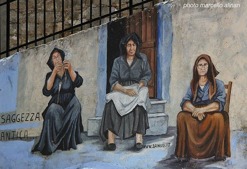ORGOSOLO  Filatura, rammendo e riposo.  #TuscanyAgriturismoGiratola