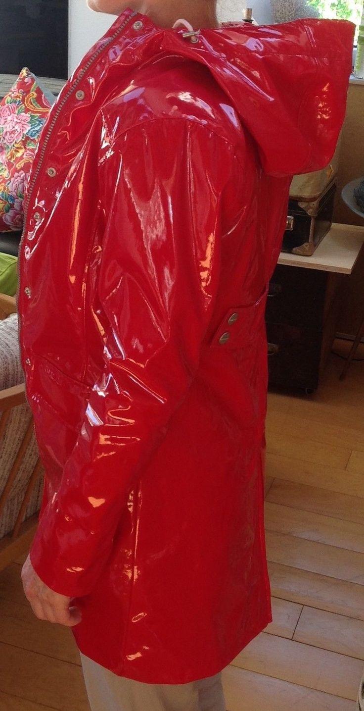 Ösregn Lackmantel lackjacke Regenmantel neu ca 36 aus Schweden sehr selten lack   Kleidung & Accessoires, Damenmode, Jacken & Mäntel   eBay!