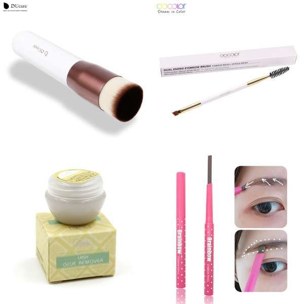 601fac96e3f Thinkshow 3D Russia Volume Korea Silk Individual Lash Eyelash Extension  Handmade Natural Long Individual Mink Lashes False Lash