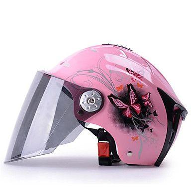 Medio Casco Anti-UV Respirante Los cascos de motocicleta 5672005 2017 – €16.91