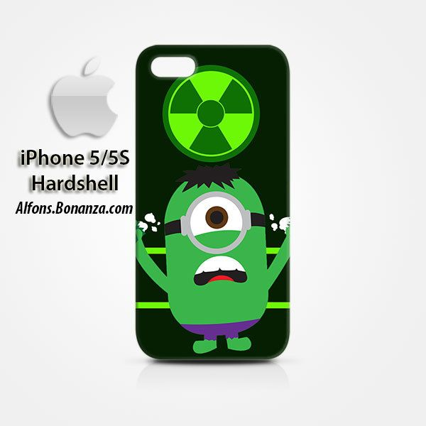 Hulk Minion iPhone 5 5s Hardshell Case