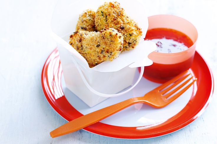 Kid's snacks get a healthy makeover with these crunchy vegetable nuggets!