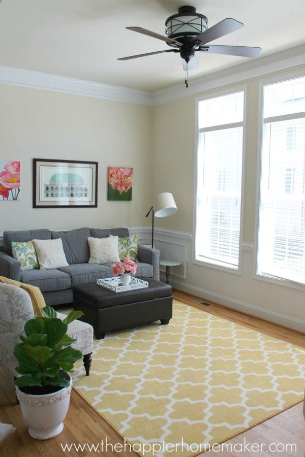 Best 25+ Yellow rug ideas on Pinterest Yellow carpet, Grey - grey living room rug