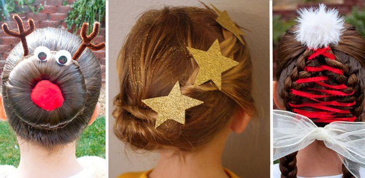 Peinados de navidad para niñas