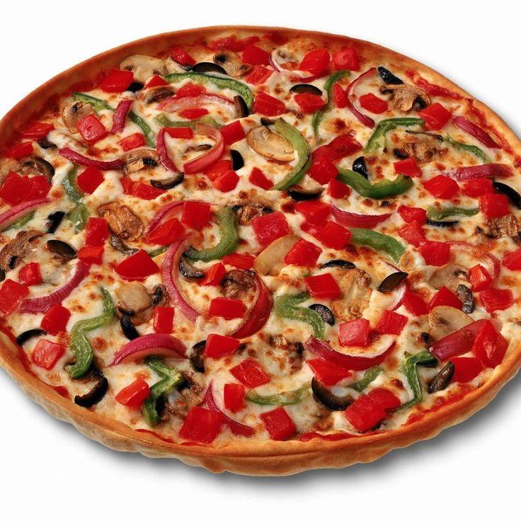 Vegetarian Pizza | FOODS TO GO, YUMMY!! | Pinterest | Mediterranean ...