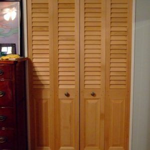 Louvered Sliding Doors