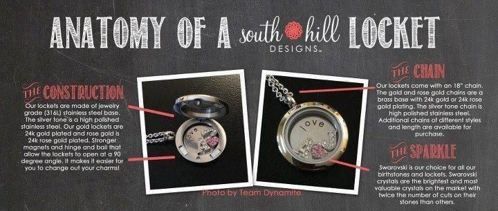 South Hill Designs  Anatomy of a Locket www.southhilldesigns.com/MrsTourville