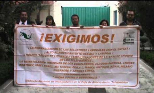 CAJA DE AHORRO DE LOS TELEFONISTAS: NEPOTISMO, CORRUPCIÓN Y REPRESIÓN