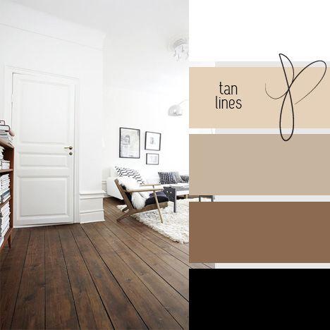Office mood board color palette black  and cream
