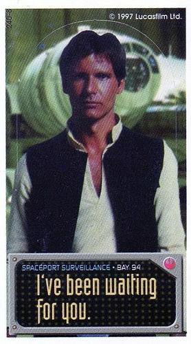 Han Solo Wishes You A Happy Chinese Valentineu0027s Day