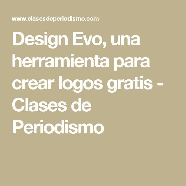 Design Evo, una herramienta para crear logos gratis - Clases de Periodismo