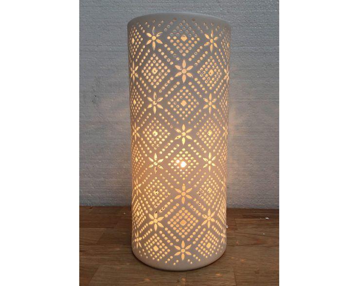 Lace Porclain Lamp