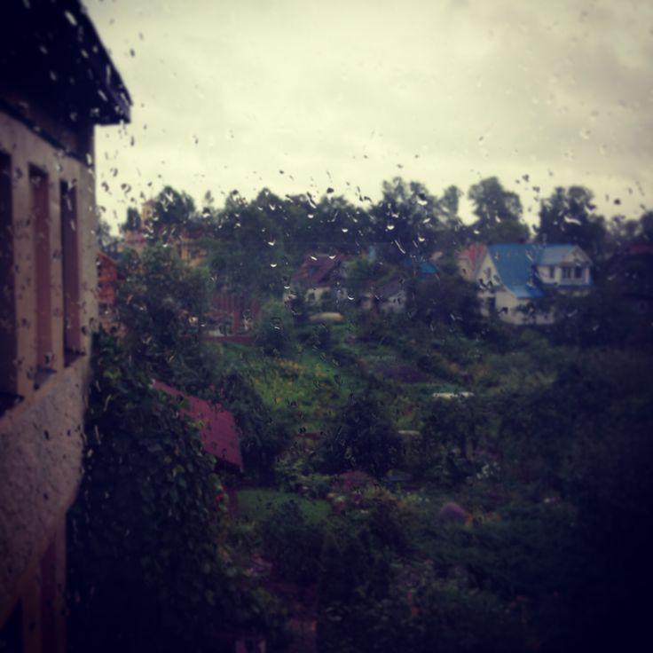 Этот город не представить без дождя