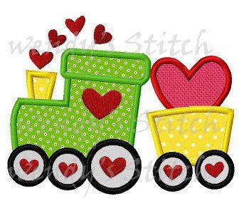 He encontrado este interesante anuncio de Etsy en https://www.etsy.com/mx/listing/174405362/san-valentin-amor-tren-apliques-maquina