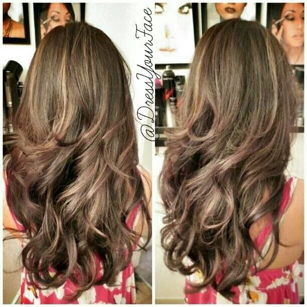 Shorter Layers On Long Hair Google Search Beauty Is In