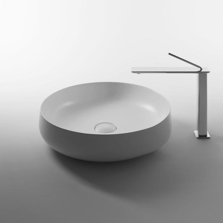WS Bath Collections Seed 45R Vessel Bathroom Sink