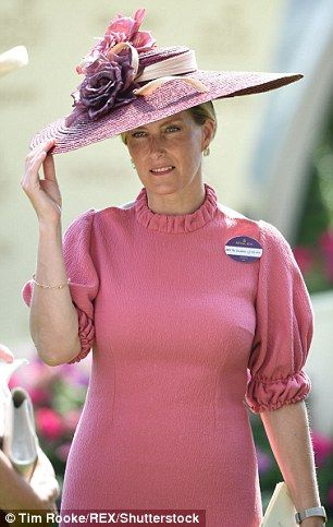 The Countess of Wessex wore a similar Emilia Wickstead number today...