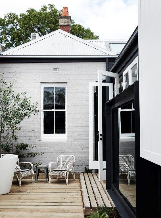 Best 25 grey exterior ideas on pinterest - Dulux exterior masonry paint colours concept ...