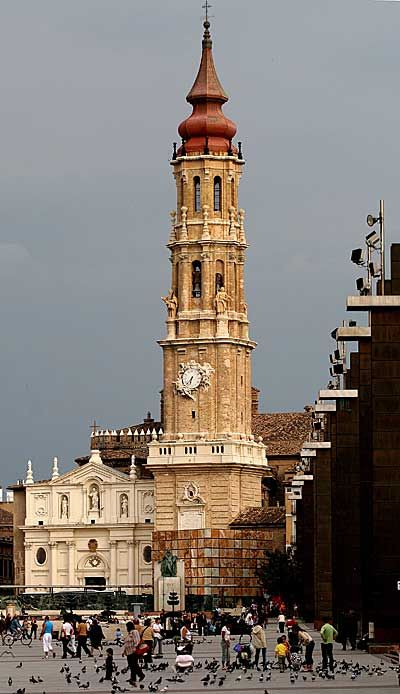La Seo Cathedral,Zaragoza,Spain
