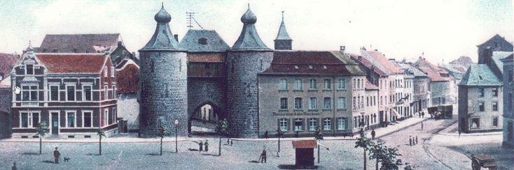 Hexenturm und Walramplatz um 1900, Jülich   NRW   Deutschland