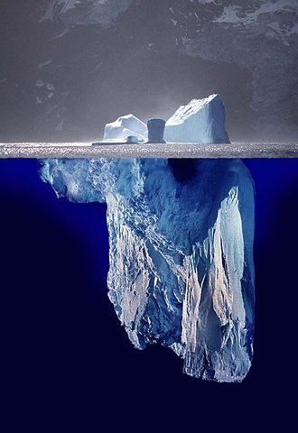 Iceberg... Nature is the greatest sculptor. S)