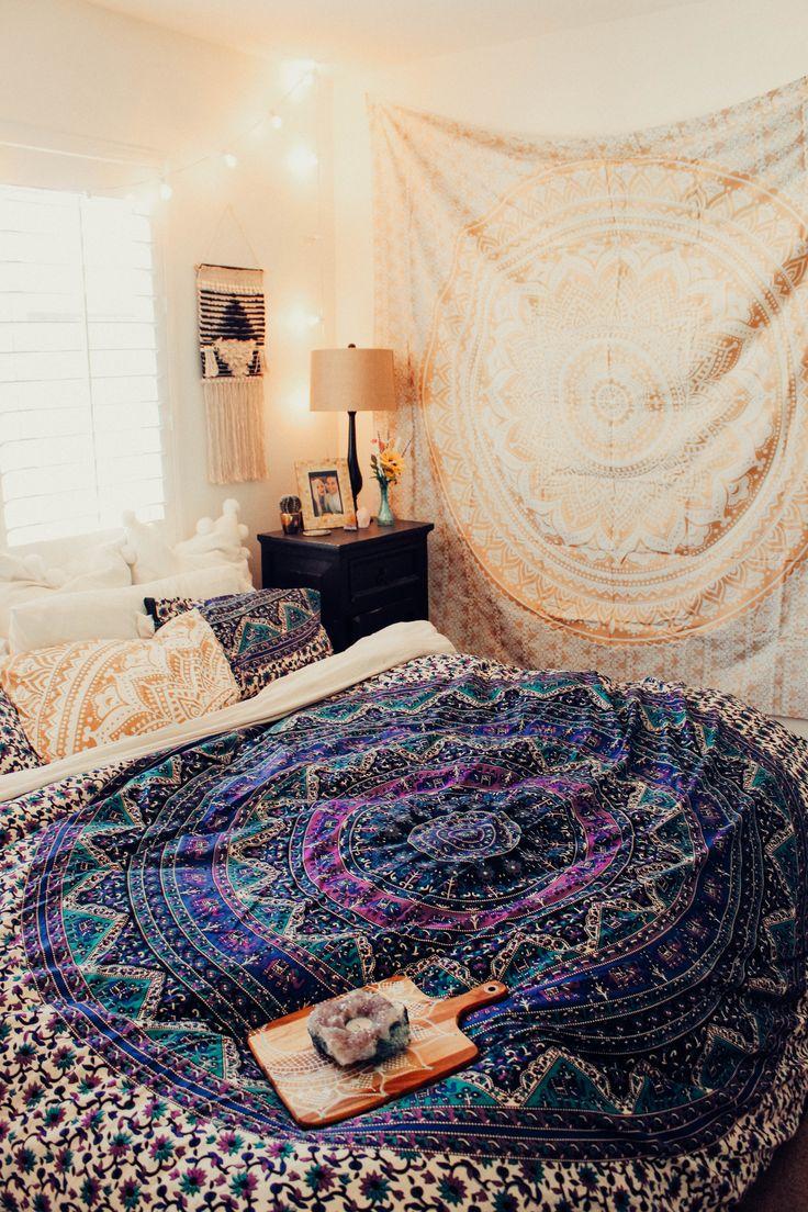 ☾☽ Lady Scorpio ☆ @LadyScorpio101 LadyScorpio101.com ✦ Bohemian Bedroom Decor