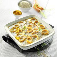 Recette Veggie Gratin de Carottes au Millet, Lentilles corail et Lait de coco