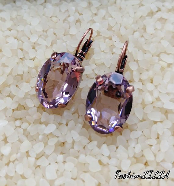 Check out this item in my Etsy shop https://www.etsy.com/ca/listing/588892141/amethyst-oval-drop-earringsgeorgian