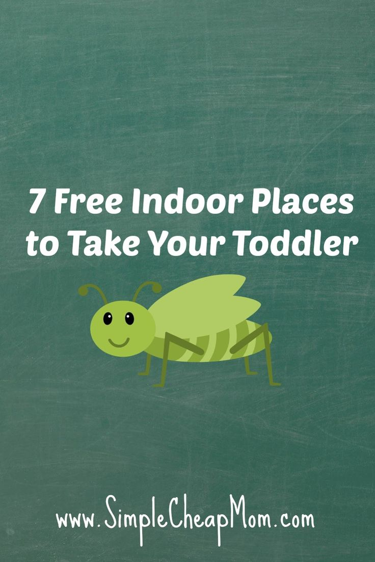 7 Free Indoor Places to Take your Toddler