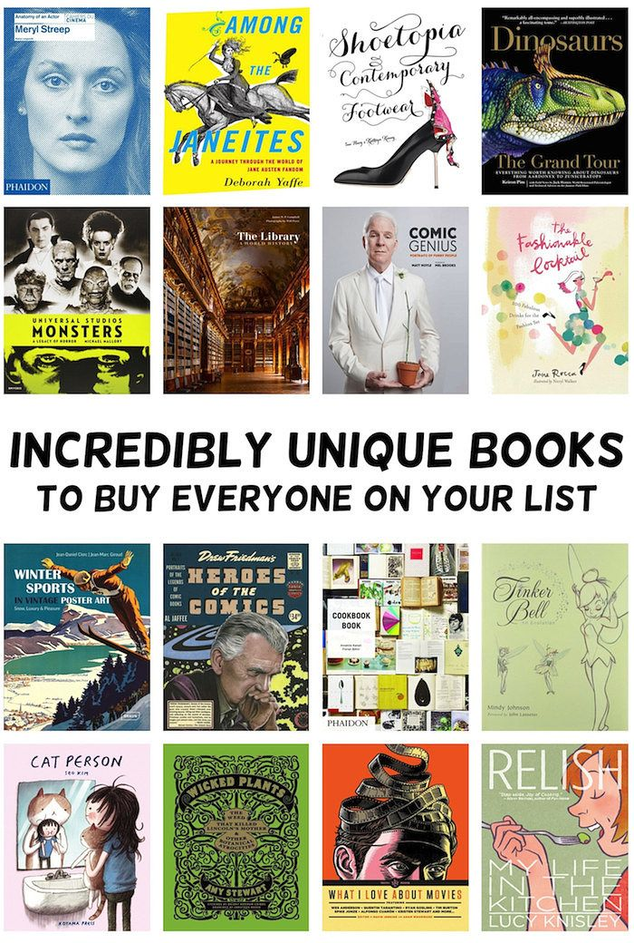 47 Incredibly Unique Books To Buy Everyone On Your List