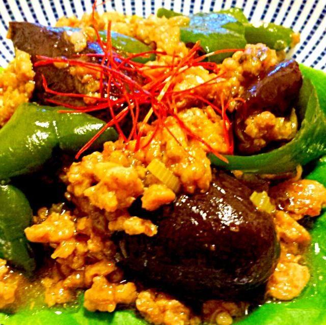 麻婆茄子より豆板醤を入れず、アッサリめのあんかけ中華炒めです。 - 63件のもぐもぐ - 茄子と豚挽肉のあんかけ中華炒め by KANA